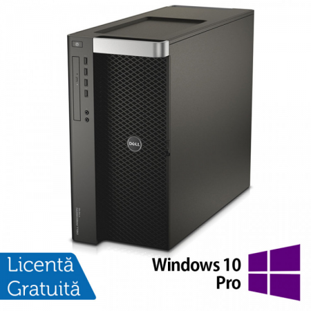 Workstation DELL Precision T7910 2x Intel Xeon Deca Core E5-2687W V3 3.1GHz-3.5GHz 25MB Cache